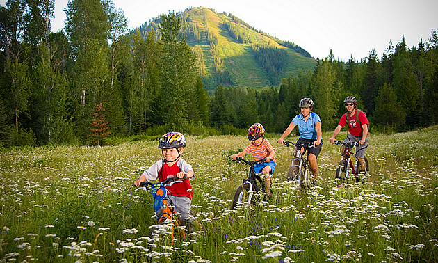 Rossland is the perfect place to bring your family.