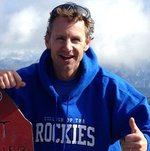 TOP OF THE WORLD, MA: Well, top of Fisher Peak, anyway. Jeff Cooper, manager of International Education at College of the Rockies in Cranbrook, says overseas students are amazed at the vast terrain of the East Kootenay.