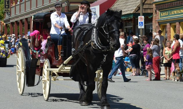Kootenay Horse & Carriage in Kaslo, BC