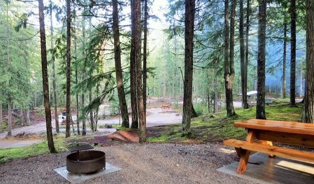 Slocan campground