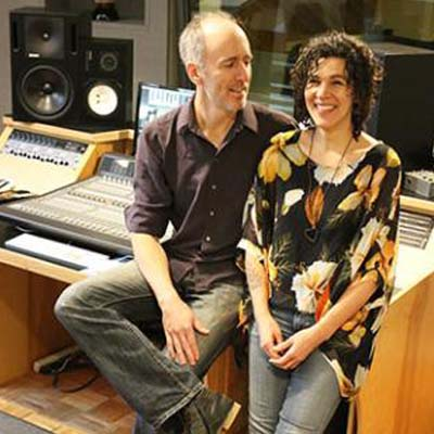 Don Macdonald (left) and Allison Girvan (right) create the sound of a 20-voice choir in the new release of choral music title breaTH. The 10-track album was recorded in the couple's home studio in Nelson.