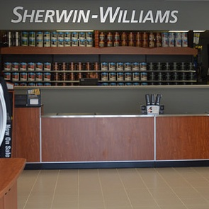 The new Sherwin-Williams store in Cranbrook.