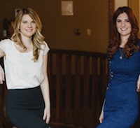 Laura Oleksow (L) and Jessica Riley (R) are the new owners of Spa 901.