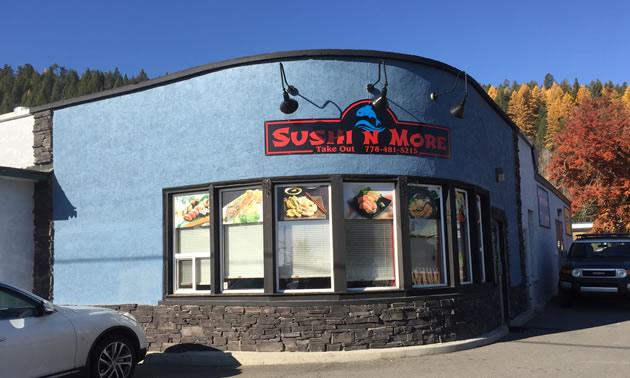 New Sushi & More restaurant.