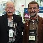 City of Cranbrook BC councillors Bob Whetham (L) and Gerry Warner