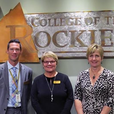 The College of the Rockies' Board of Governors is pleased to welcome newly appointed board member, Darryl Hyde; and election to the position of Chair, Wilda Schab; and Vice-Chair Krys Sykora.