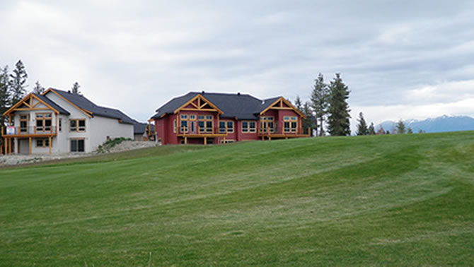 Wildstone Golf Real Estate, Cranbrook.