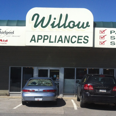 Willow Appliances storefront