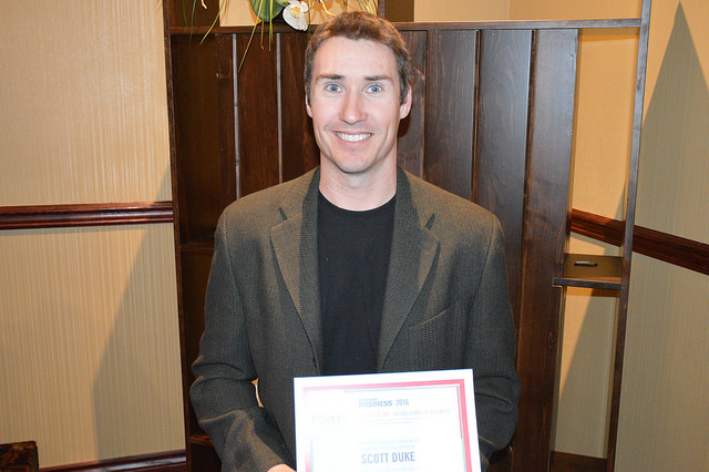 Scott Duke, owner of Revelstoke Property Services and Welstand Business Brokers.