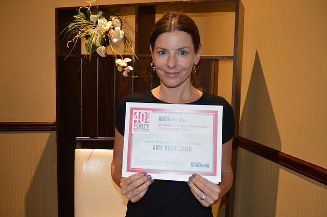 Amy Robillard of Junior Achievement in Nelson, B.C.