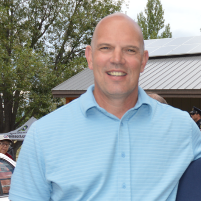 David Wilks is the mayor of Sparwood, B.C.