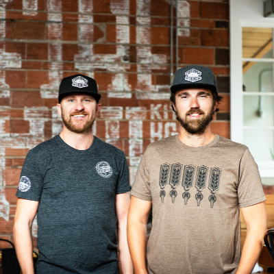 (L to R) The owners of Fire Hall Kitchen & Tap—Fred Williams and Jesse Roberts.