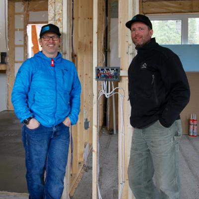 (L to R) Steve Whelan and Ian Larsen, owners of LWE in Fernie.
