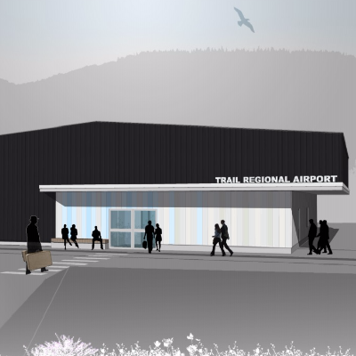 Trail Regional Airport rendering