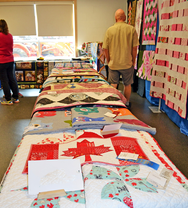The annual quilt show at the Creston Valley Fall Fair