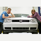 Stephanie and Aaron Van de Kemp, owners of Cleanline Automotive in Invermere, B.C.