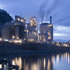 Celgar near Castlegar, B.C. is one of the largest and most modern kraft pulp mills in North America.