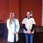 Dr. Colleen Kramer and Dr. Emma Davis of Beaver Valley Animal Clinic.