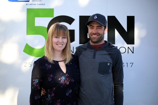 Coraley Letcher and Dave Thomson, owners of 5 Gen Construction in Fernie, B.C.