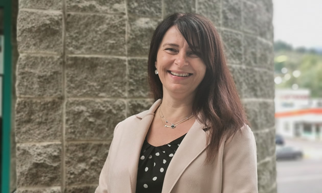 Erika Krest is the executive director of the Trail & District Chamber of Commerce