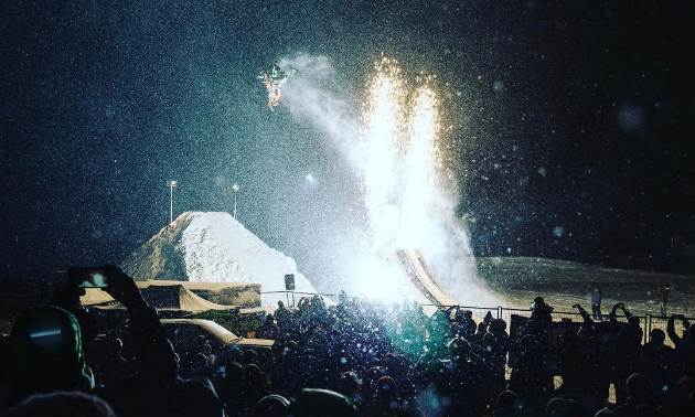 CBK-X Winter Blitzville will take place in downtown Cranbrook on Baker Street from 4:30 to 8:30, culminating with a massive fireworks extravaganza.