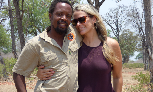 Escape to Africa Safaris is run by the husband-wife team of Fannuel Nsingo and Colleen Chisholm.