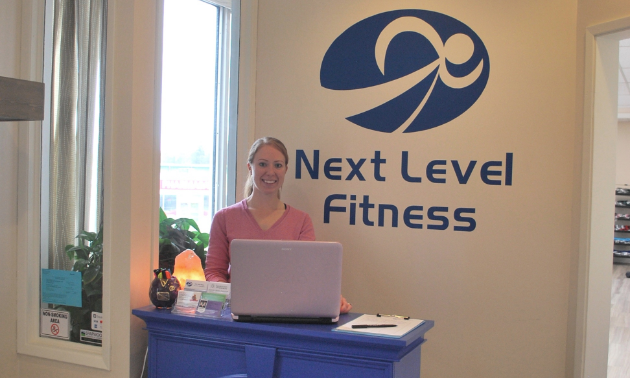 Katie Jackson is the owner of Next Level Fitness in Sparwood, B.C.