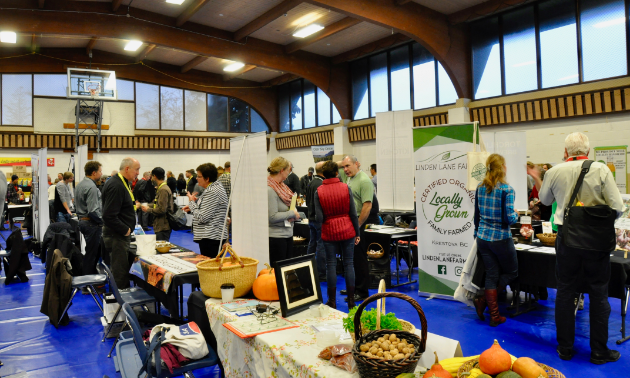 Columbia Basin Trust Food hosted a Food and Buyers Expo in Nelson, November 29, 2018.