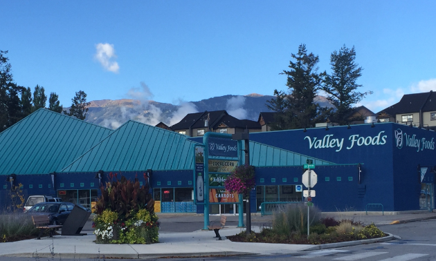 AG Valley Foods is a large blue building