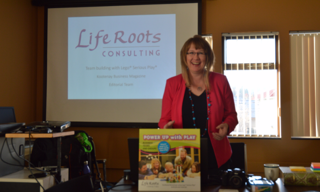 Krystal Oleson from Life Roots Consulting