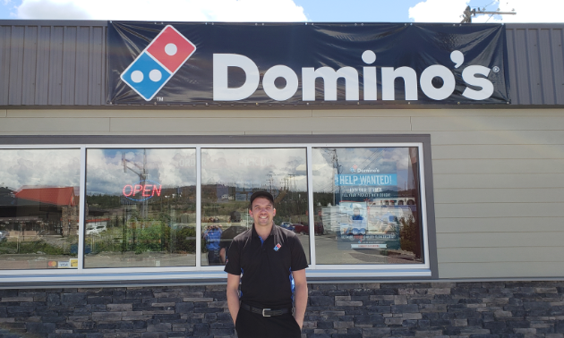 Louis Nelson is the new owner/operator at Domino's new Cranbrook location.