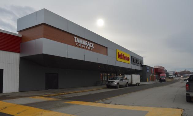 The Tamarack Centre's new exterior