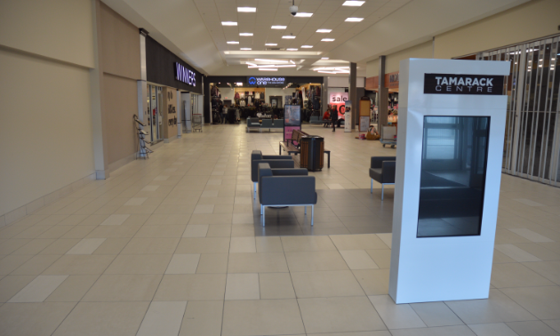 Tamarack Centre interior front entrance