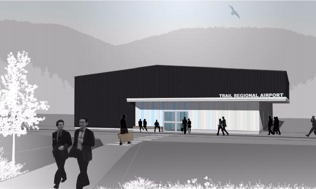 Trail Regional Airport rendering