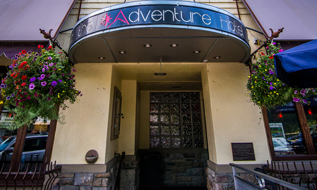 The Charming And Contemporary Adventure Hotel Is Situated In A 103 Year Old Building