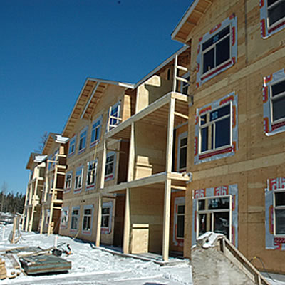 An affordable housing development in the Elk Valley that was built in recent years, CBT looking to expand program.