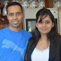 Ajay and Pam Uppal
