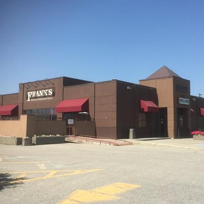 Old Frank's Restaurant building.