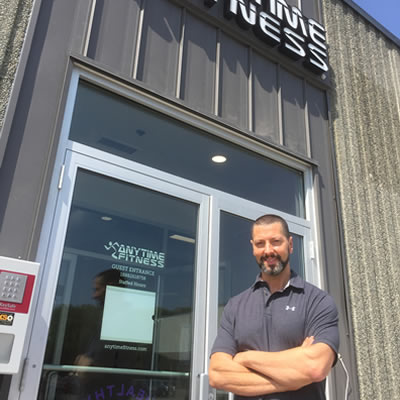 Marc Ramis, manager of the Anytime Fitness Centre in Cranbrook.