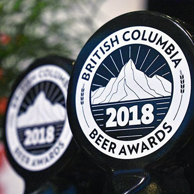 Logo for the BC Beer Awards and Festival.
