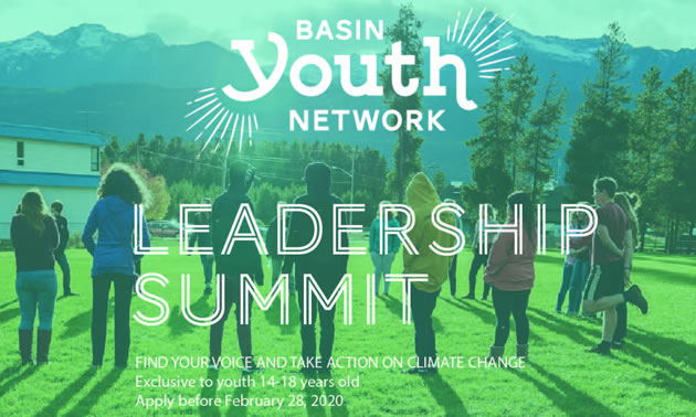 Graphic for Basin Youth Network Leadership Summit.