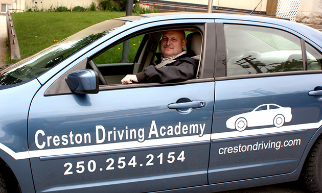 William Doeleman, a former law enforcement officer, is the founder and operator of Creston Driving Academy.