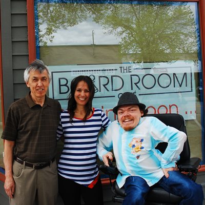 The Board Room Café, owned by Alf Him, his daughter Savanna Hines and her husband Justin Hines, opened in mid-June 2017.