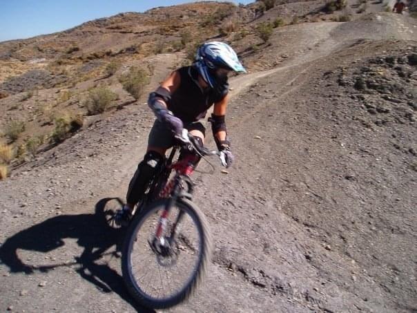 Biking in Bolivia