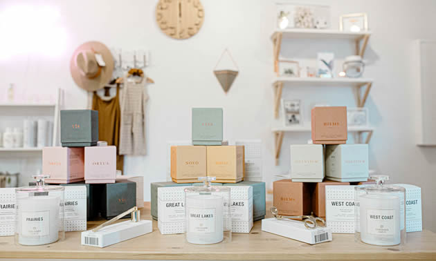 Bona Fide, in Golden, B.C., supplies locals (and online customers) find quality gifts for their feminine family members and friends.