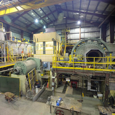 Braveheart Resources' mill at the Bull River Mine is near Cranbrook, B.C. .
