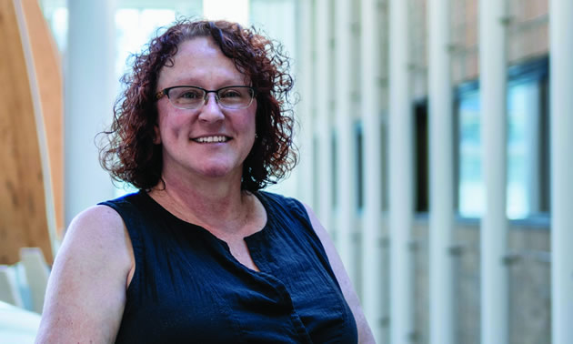 Brenda Mathenia, new Director, Teaching and Learning Resources at College of the Rockies.