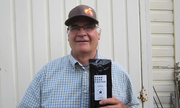 Brian Conn is the owner-operator of Kootenay Shade Works and Northstar Roasting Co.