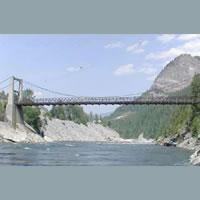 Photo of Brilliant Bridge near Castlegar, B.C.