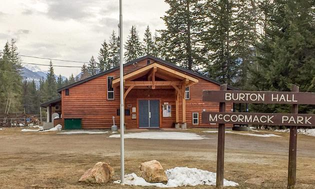 The Burton Community Assocation Community Hall.